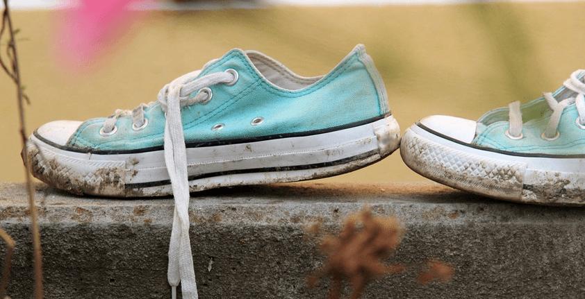 Kaputte Schuhe entsorgen