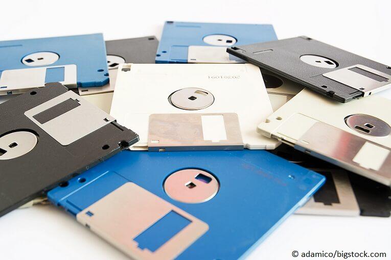 Disketten entsorgen