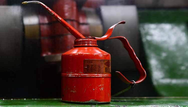 Ölbehälter entsorgen