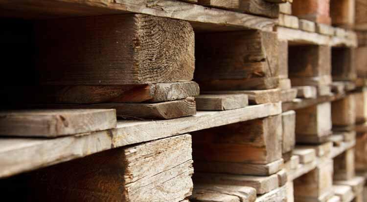 Holzpaletten entsorgen