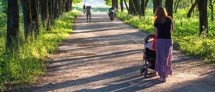 Kinderwagen entsorgen