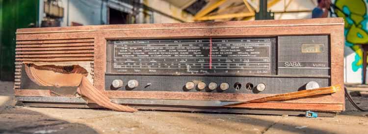 Alten Radio entsorgen