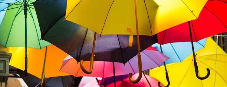 Regenschirm entsorgen