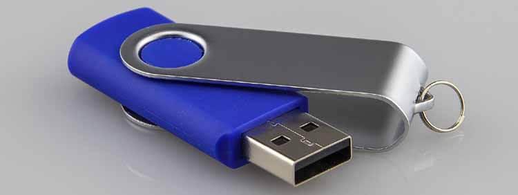 USB Stick entsorgen