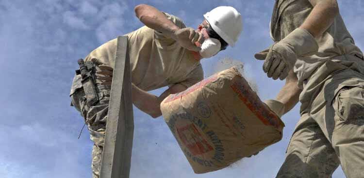 Zement entsorgen