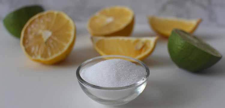 Zitronensäure entsorgen