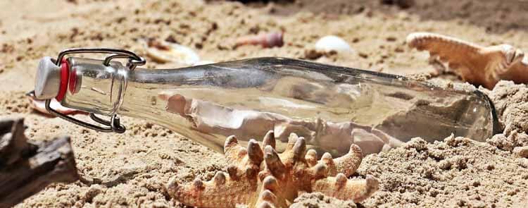 Alten Sand entsorgen
