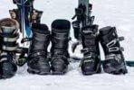 Alte Skischuhe entsorgen